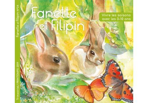 Téléchargez gratuitement un numéro de Fanette et Filipin